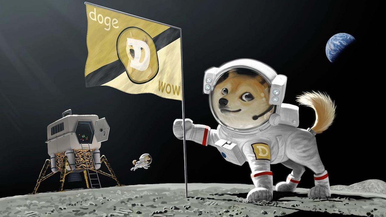 狗狗币Dogecoin暴涨原因其身价飙升至加密货币第九位